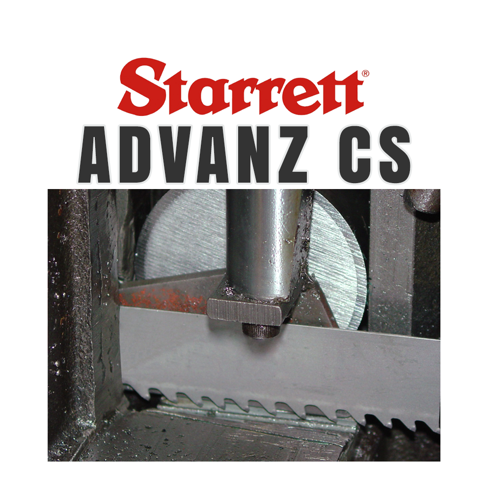 Starrett Advanz Cs Carbide Tipped Band Saw Blade
